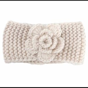 Other - Baby crochet headband with flower